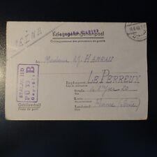 LETTRE PRISONNIER DE GUERRE STALAG II D 16.06.1942 KRIEGSGEFANGENENPOST POW