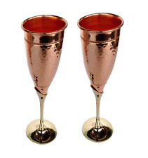 Bohemian Pure Copper Tableware Bar Hotel Serving Wine Whisky Goblet Indian Glass