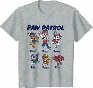 PAW Patrol Ryder Character Line Up Toddler T-Shirt BNWT