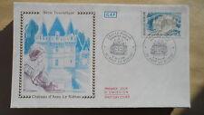 FDC Enveloppe Premier Jour - CEF - Château d'Azay - 09/05/1987 - Azay le Rideau