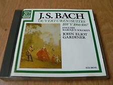 Gardiner - J.S Bach - Overtures / Suites BWV 1066-1067  - Erato First Ed. Japan