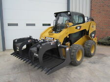 "Paladin FFC 84"" Skid Steer Loader Construction Brush Grapple Bucket Attachment"