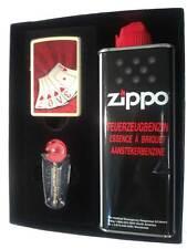 Zippo® Love Cards- Poker Game Spiel  Gift Set/ Geschenkset Neu/ New Ovp