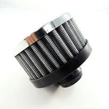 """SB Universal Push In Breather Filter No Oil Required Lifetime 1.25"""" x 3"""" x 2.5"""""""