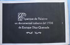 El Parque de Palatino Icaic Movie poster art Film Silkscreen Cuba Cuban Rare