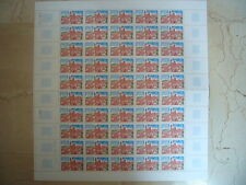 FEUILLET 50 TIMBRES NEUFS FRANCE EUROPA 1 F. 1977 Y & T N° 1928 TTBE