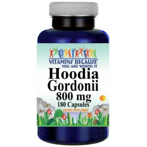 Hoodia Gordonii Extract 800mg 180 Caps Natural Whole Herb