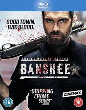 Banshee - Season 1 2 3 4 Complete Series [Blu-ray, Region Free, Crime] NEW