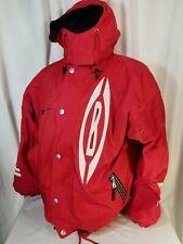 Bogner carving gear mens red ski coat jacked hooded sz 42