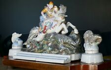 RARE USSRof the author's porcelain figure Ivan Tsarevich and the gray wolf 1950s
