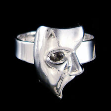 Phantom of the Opera Masquerade Mask Broadway Musical Womens Adjustable Ring New