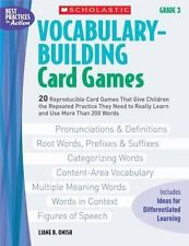 Vocabulary-Building Card Games: Grade 3: 20 Reproducible Card Games That Give
