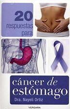 20 respuestas para cancer de estomago (Vivir Mejor