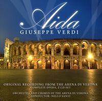 CD Aida von Giuseppe Verdi - Arena Di Verona  2CDs