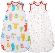 Saco de dormir Grobag baby sleeping bag manchada oso de 18 - 36 2.5 & 1 Tog Paquete Doble Día Y Noche