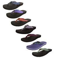 Teva Womens Classic Flip Toe Post Slide Sandals