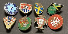 More details for national football association pin badges collection x 8
