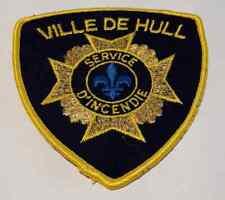 Cap-de-la-Madeleine Trois-Rivieres Quebec Police Patch BNQ Vintage