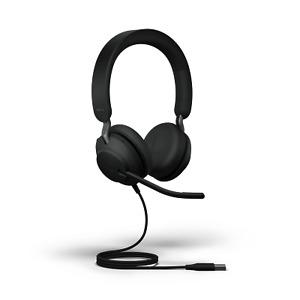 Jabra Evolve2 40 - USB-A MS Teams Certified UC Stereo 24089-999-999