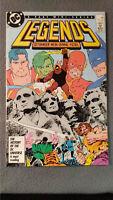Legends #3 (1987) FN/VF DC Comics Flat Rate Shipping