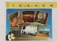 Vintage Erlebnis Salzbergwerk Postcard ~ Ships FREE