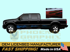 2005 2006 2007 Ford F-250 350 450 550 Harley Davidson Truck Flames Decal Stripes