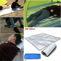 Portable EVA Waterproof Sleeping Mat Moisture-proof Pad Mattress Aluminum Foil
