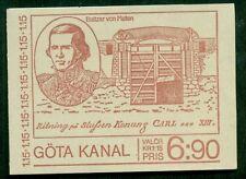 Sweden (H315) Scott 1290a, 6.90kr Gota Canal Booklet, Vf