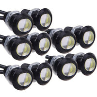 10pcs 12V 9W LED DRL Eagle Eye Lights Car Auto Daytime Reverse Signal White lamp