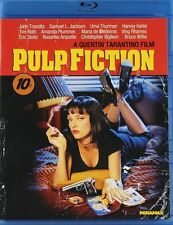 PULP FICTION NEW BLU RAY DISC MOVIE QUENTIN TARANTINO JOHN TRAVOLTA UMA THURMAN