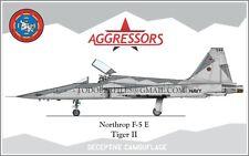 Northrop F-5 E Deceptive Cammo -Poster Profile