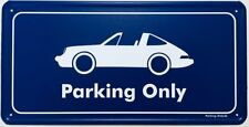 Parking Only-PORSCHE 911/964 targa-aluminium bouclier