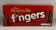 Cadbury Bournville Fingers Dark Chocolate 110g Box New
