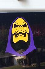 Skeletor Purple/yellow STICKER VINYL DECAL HE-MAN MASTERS OR THE UNIVERSE MATTEL