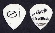 Enrique Iglesias Sean Hurwitz Signature White Guitar Pick - 2018 World Tour