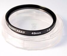 Used Quantaray 49mm +3 Close Up Filter
