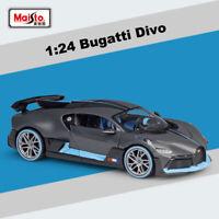Maisto Collection 1:24 Scale Bugatti Divo Diecast Alloy Car Model New in Box