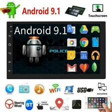 Double 2DIN 7inch Android 9.1 Car Stereo GPS Navi WiFi Bluetooth4.0 FM Head Unit