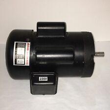 Grizzly Motor 2 HP Single-Phase 1720 RPM 110V/220V