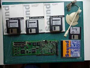 Sound Blaster AWE32 PnP IDE ISA mit original Zubehör CT 3990