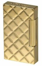 S.T. Dupont Line 2 Slim, Quilted Pattern Lighter, 017082, (17082) New In Box