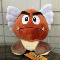 "Super Mario Bros. Paragoomba 7"" Stuffed Animal Nintendo Para Goomba Plush Toy"