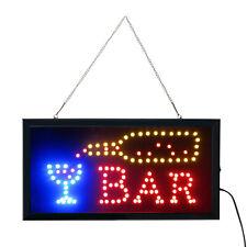 19x10 Animated Motion Led Neon Light Restaurant Cafe Bar Business Sign