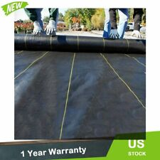 New Weed Barrier Fabric Woven Earthmat Ground Cover Landscape Heavy-Duty