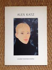 Catalogue Alex Katz -Edition originale-Galerie Thaddaeus Ropac/Eric de Chassey