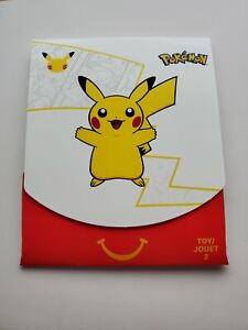 POKEMON McDonalds Happy Meal Toy #2 25th Anniversary 2021 Promo Sealed Card Pack