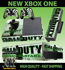 XBOX ONE Console Sticker Call Of Duty Modern Warfare COD SKIN & 2 PAD SKINS