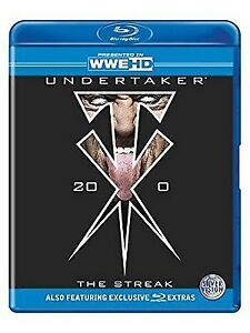 WWE - Undertaker - The Streak (Blu-ray, 2012, 3-Disc Set) - Region B