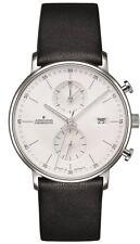 AUTHORIZED DEALER Junghans 041/4770.00 FORM C Chronoscope 40mm Case Watch