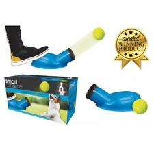 Pet Dog Puppy Tennis Ball Stomper 15m Launcher Blaster Foot Activated Fetch Toy